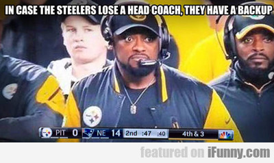 In Case The Steelers Lose A Head Coach...