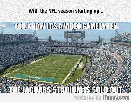 With The Nfl Season Starting Up...