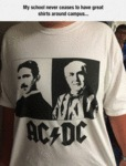 My School Never Ceases To Have Great Shirts....