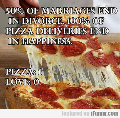 50% Of Marriages End In Divorce...