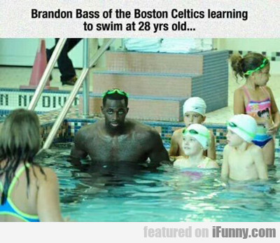Brandon Bass Of The Boston Celtics...