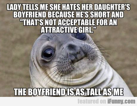 Lady Tells Me She Hates Her Daughter's....
