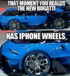 That Moment When You Realize The New Bugatti...