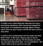 A Dublin Man Called Malcom...
