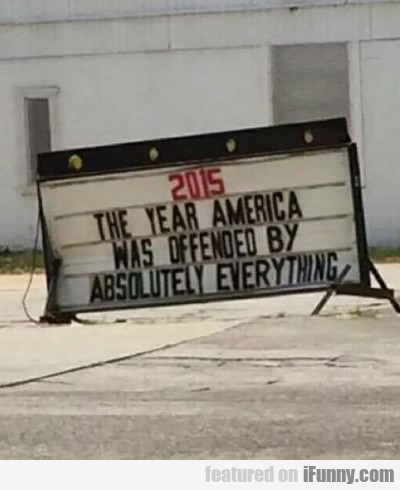 2015: the year america was...