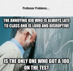 Professor Problems...