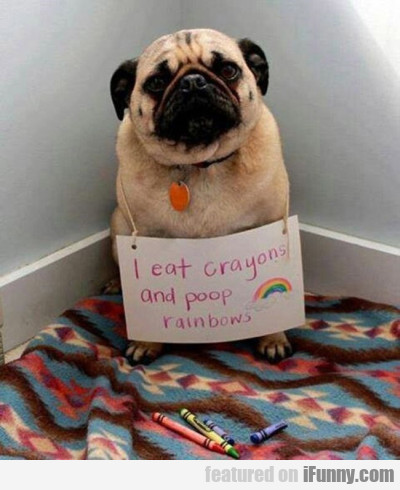 I Eat And Poop Rainbow