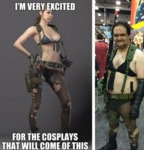 I'm Very Excited For The Cosplays That Will...