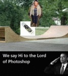 We Say Hi To The Lord Of Photoshop...