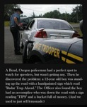 A Bend, Oregon Policeman...