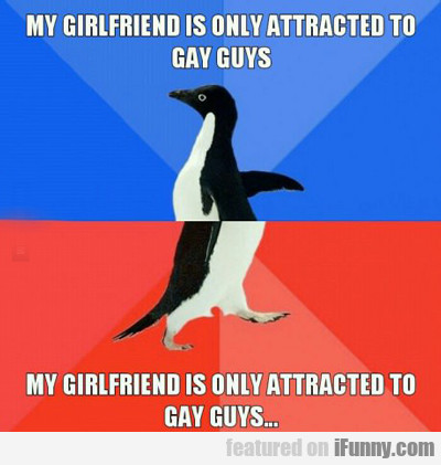 My Girlfriend Is Only Attracted To Gay Guys...