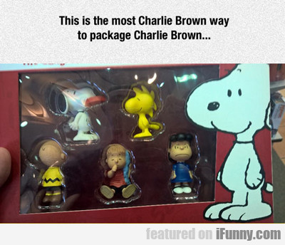 This Is The Most Charlie Brown Way...