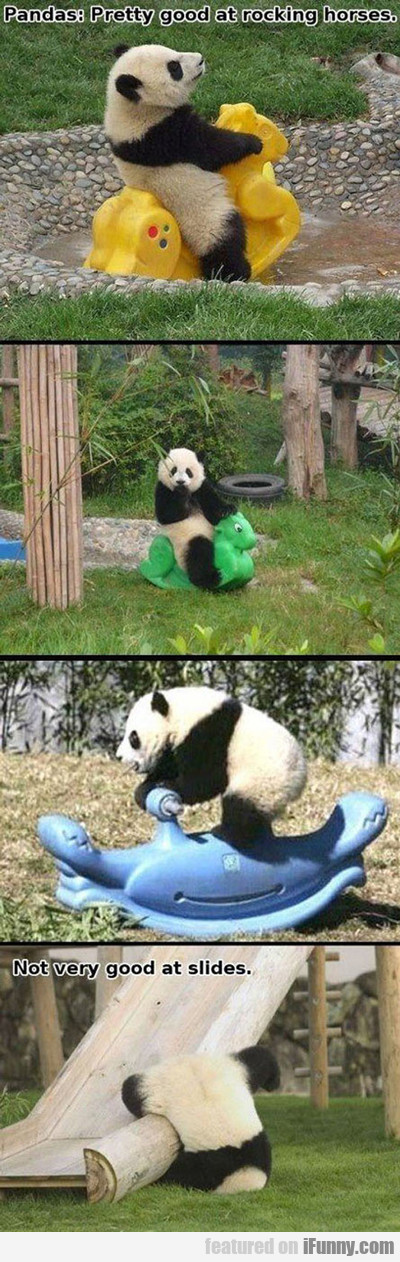 Pandas: Pretty Good At Rocking Horses...