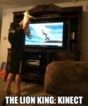 The Lion King: Kinect....