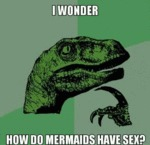 I Wonder How Do Mermaids Have Sex?