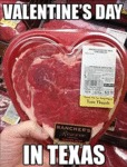 Valentine's Day In Texas...