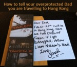 How To Tell Your Over Protected Dad...