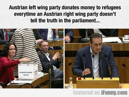 Austrian Left Wing Party Donates...