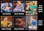 Soft Sheldon...
