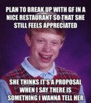 Plan To Break Up With Gf...