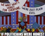 If Politicians Were Honest...