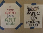 Keep Calm, Join Art Club...