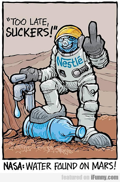 Nasa: Water Found On Mars!