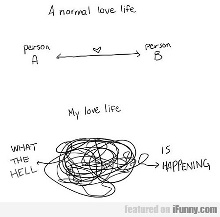 A Normal Love Life Vs. Mine