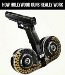 How Hollywood Guns Really Work...