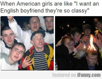 When American Girls Are Like....