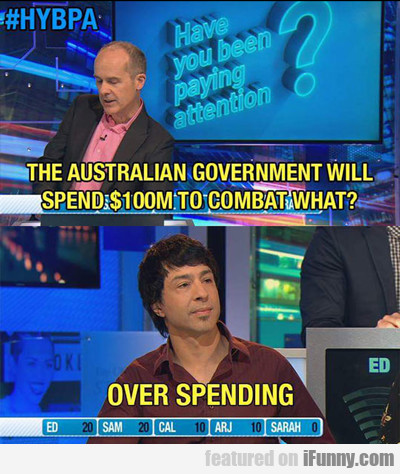 The Australian Government Will Spend...