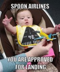 Spoon Airlines...