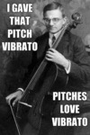 I Gave That Pitch Vibrato...