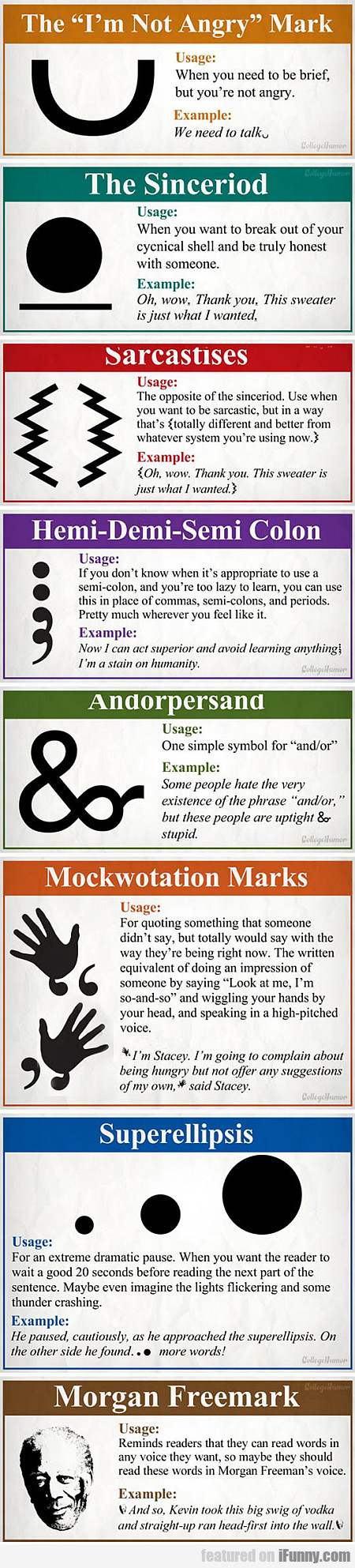 new and necesarry punctuation marks