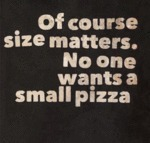 Of Course Size Matters...