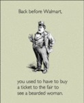 Back Before Wal-mart...