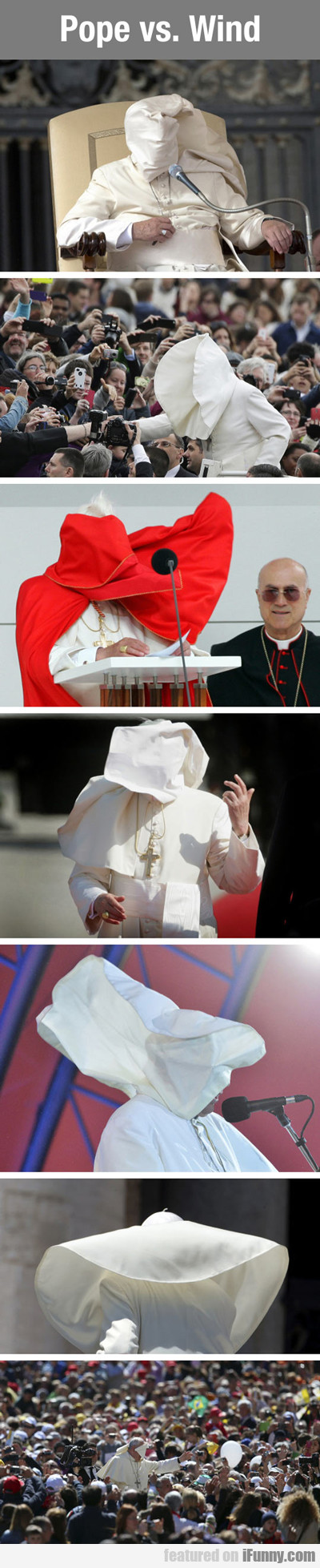 Pope Vs. Wind...