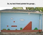So, My Best Friend Painted His Garage...