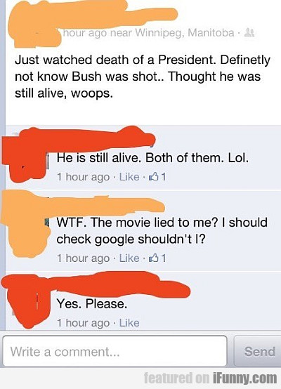 Just Watched Death Of A President...