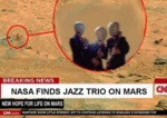 Nasa Finds Jazz Trio On Mars...