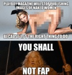 Playboy Magazine Will Stop...