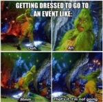 Getting Dressed To Go To An Event Like...