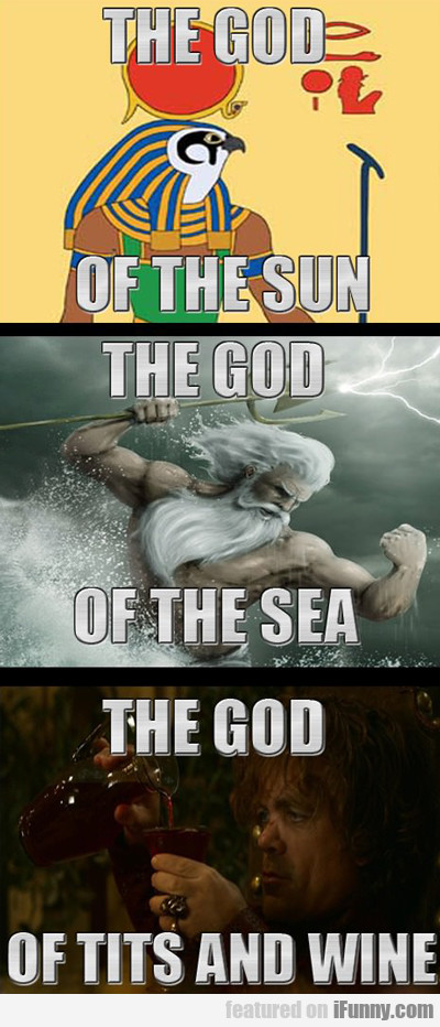 The God Of The Sun...
