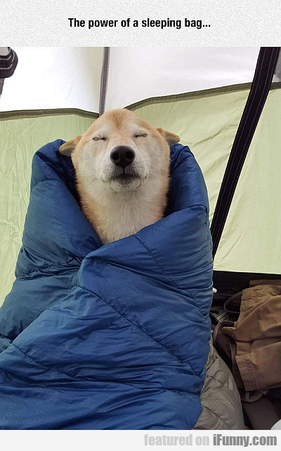 the power of a sleeping bag