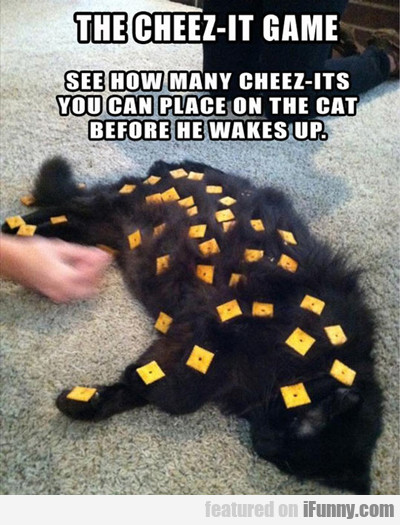 The Cheez-it Game...