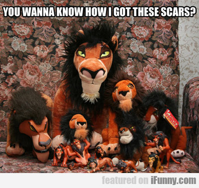 Do You Wanna Know How I Got These Scars?