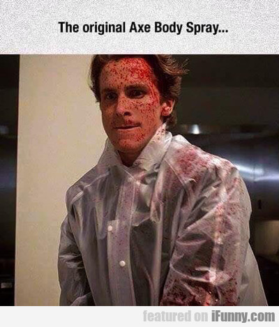 The Original Axe Body Spray...