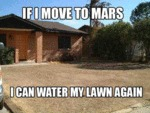 If I Move To Mars...
