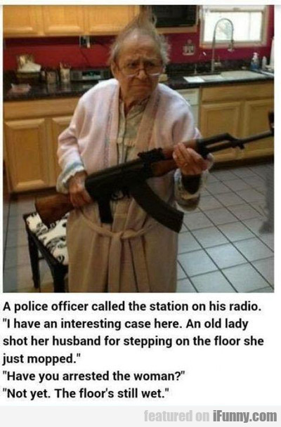 A Police Officer Called The Station...