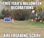 This Year's Halloween Decorations...